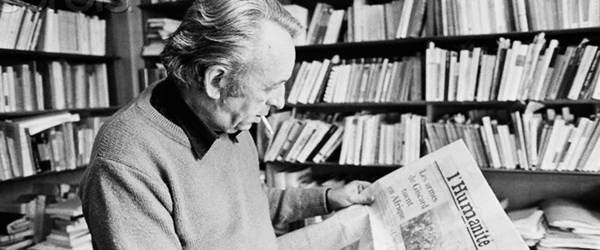 Louis Althusser reading